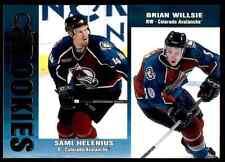 1999-00 Pacific Omega Sami Helenius, Brian Willsie #69