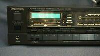 + RARE Technics SA-390 Quartz Synth AM/FM Stereo Receiver w/EQ - SOUNDS GREAT! +