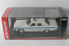 DODGE MONACO CHICAGO POLICE 1974 AUTOWORLD 1142 1/43 STATE OF AMERICA USA NEW