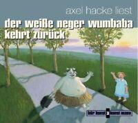 AXEL HACKE - DER WEIßE NEGER WUMBABA KEHRT ZURÜCK  CD NEW HACKE,AXEL