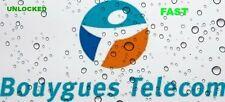 DEBLOCAGE CODE iPHONE -LUMIA - SAMSUNG - ZTE - SONY LIBERAR BOUYGUES  FRANCE