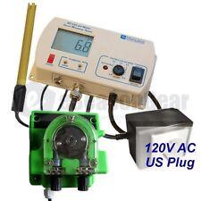 Milwaukee MC720 pH Controller + Dosing Pump, 115V, MC122 + MP810