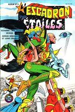 L'Escadron des Etoiles Album N°3 (Avec n°6 et 6) Arédit-D.C. Comics1983 - BE
