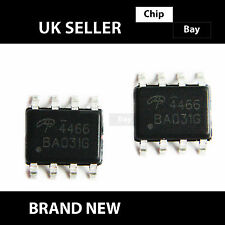 2x Alpha & Omega AO4466 4466 30V N Channel MOSFET SOIC-8 IC
