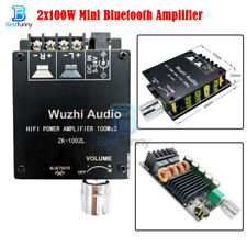 2x100W TPA3116 Mini 5.0 Bluetooth High power Amplifier Board Adjustable Button