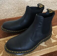 NEW Dr. Martens 2976 Carpathian Mens Boots Black Leather  Size 12