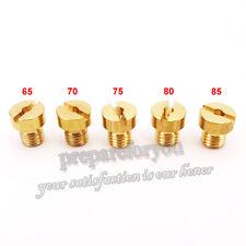 5mm Replacement Carburetor Carb Jets #65 70 75 80 85 For Dellorto SHA PHBG