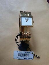 Damen-Uhr D&G Dolce & Gabbana Jungle, DW0073 Spangenuhr Armreif, Gold, Neu