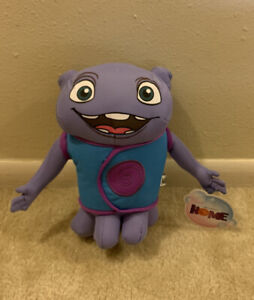 Plush NWT Dreamworks Home Purple Oh Boov Alien Stuffed Animal Toy Factory