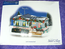 "2007 DEPARTMENT 56 ""LOT 57, CHRISTMAS COURT"" COLLECTIBLE IN BOX"