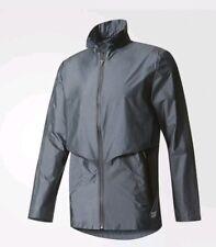 NEW Adidas Trefoil Freizeit Light Running Jacket Large blue grey