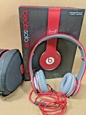 Beats by Dr Dre Solo HD Wired On Ear Headphones Red Special Edition