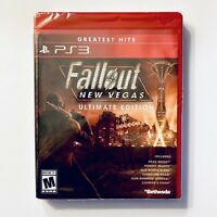 Fallout New Vegas Ultimate Edition (PlayStation 3) Free Ship Factory Sealed PS3