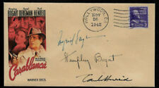 Casablanca Collector Envelope Original Period 1942 Stamp Humphrey Bogart Op1277