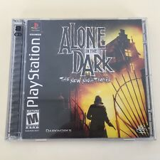 Alone in the Dark: The New Nightmare - PS1 PlayStation 1 - Complete - Free Ship