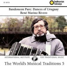 Bandoneon Pure: Dances of Uruguay Traditional Music of the World 5 - New CD