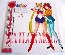 SAILOR MOON Vol.6 JAPAN LD Laserdisc w/OBI inc. TV episode 21-24 Laser Disc