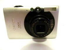 Canon IXY Digital 25is 10.0 MP Fotocamera Digitale-Argento