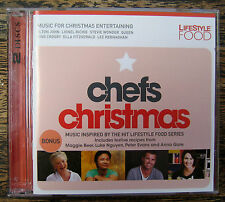 CHEFS CHRISTMAS New CD Christmas Music Entertaining [2 Disc Set] LifeStyle Food