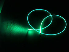 "2.0mm ""NEON GLOW"" fiber optic fiber make awesome lighting + FREE illuminator"