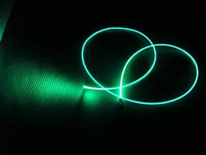 "2.0mm ""NEON GLOW"" fiber optic fiber make awesome lighting + FREE illuminator"