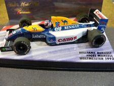1/43 Minichamps Williams Renault Nigel Mansell WM 1992 #5