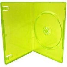 10 Empty Standard XBOX 360 Translucent Green Replacement Games Boxes / Cases ...