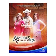 AMORES VERDADEROS . Telenovela MEXICANA 45  Dvds