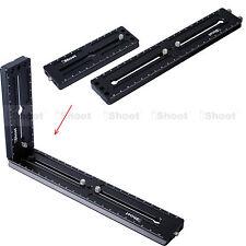 22cm+12cm Kameraplatte = Vertikale Kugelkopf Schnellwechselplatte Kameraschiene