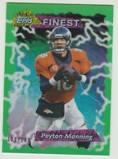 2015 Topps Finest PEYTON MANNING 1995 RETRO GREEN REFRACTOR /299 *Hall of Fame*