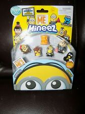 Minions Mineez Series 1 Despicable Me 6 pk W/Gru and More New