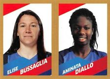 stickers Panini Carrefour Foot 2018 - N° 76B / 76A