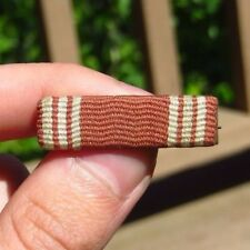 WW2 US Army Military Good Conduct Medal Ribbon Bar British Made
