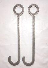 "AR500 10"" Target Hanger Hook 3/4"" SCH40 Pipe 1"" Tube Round Bar"