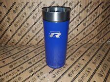 Genuine Volkswagen R Thermo Mug Stainless Steel Silver/Lapiz Blue - 15D069604
