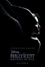 Maleficent Mistress Of Evil - original DS movie poster 27x40 D/S Advance - 2019