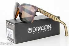 Dragon Alliance Mansfield gafas de Sol mates agravio monturas bronce lentes