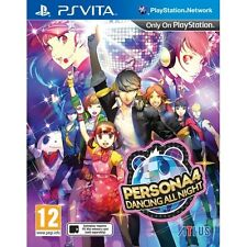 Persona 4 Dancing All Night PS Vita - Brand New!