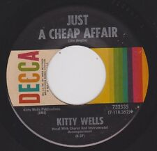 KITTY WELLS {60s Honky Tonk} Just A Cheap Affair / Don't Call Me Your... ♫HEAR