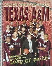2004-05 TEXAS A&M BASKETBALL MEDIA GUIDE (BILLY GILLESPIE FIRST YEAR