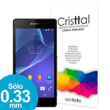 Sentete® Sony Xperia Z2 Protector de Pantalla de Cristal Templado PREMIUM
