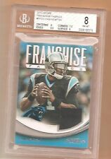 2013 ~ Score Franchise Fabrics ~ Cam Newton~ Panthers~ Relic/Jersey Card BVG 8
