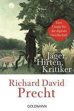 Jäger, Hirten, Kritiker ? Richard David Precht (2020, Taschenbuch) ???UNGELESEN