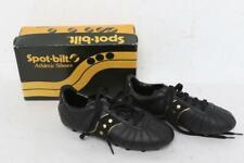 Vintage Spot-Bilt Womens/Kids Athletic Shoes Sports Cleats Black Size 1.5 or 4US