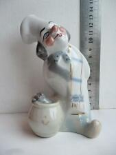 Chef with spoon 1970s Antique USSR soviet ukrainian russian porcelain figurine f