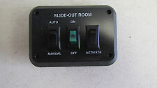 SLIDE-OUT ROOM CONTROL PANEL W/ AUTO/MANUAL, ON/OFF & ACTIVATE SWITCHES