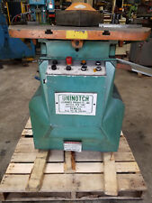 Used Uninotch Notcher Model N225 - Notching Machine - Sanson Northwest