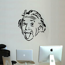 Einstein tongue office wall sticker apple living room workshop decal art vinyl