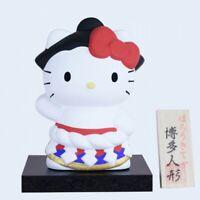Sanrio Hello Kitty Ceramic figure doll HAKATA WERE Sumo Limited Rare Japan