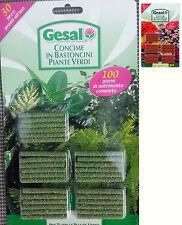 Gesal 30 Bastoncini Concime stick Fertilizzante a Lenta Cessione Per Piante